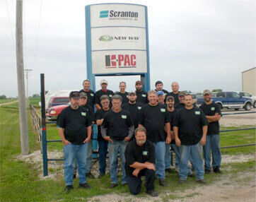 Scranton Mfg Team